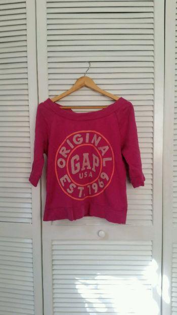 Sudadera rosa Gap