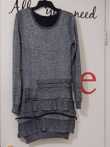 Bcbg Max Azria Vestido Tipo Suéter Talla L