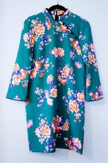 Vestido tipo kimono