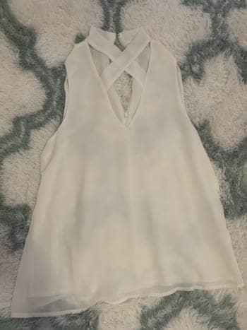Blusa blanca Lisa