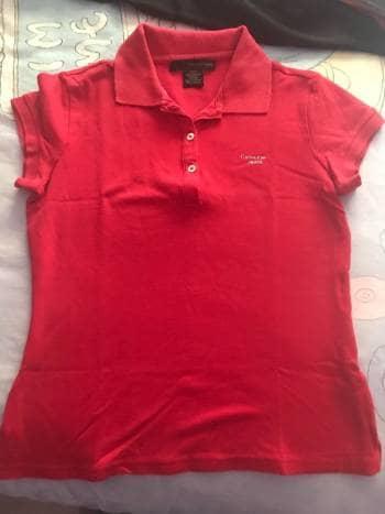 Blusa tipo polo Calvin Klein - GoTrendier - 577146 38a50c71626f9