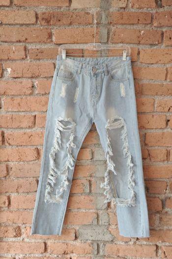 Jeans Azules Rotos