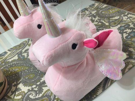 ✨¡NUEVAS! Pantunflas unicornio ?