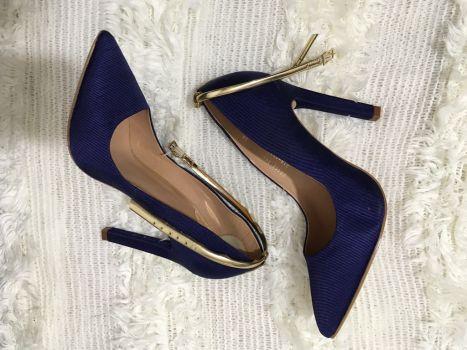 Zapatos Andrea Azul Marino