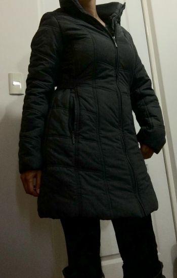 Abrigo largo impermeable
