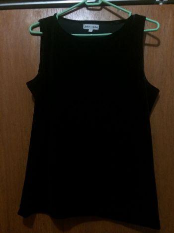 Blusa Gamuza negra 2x1