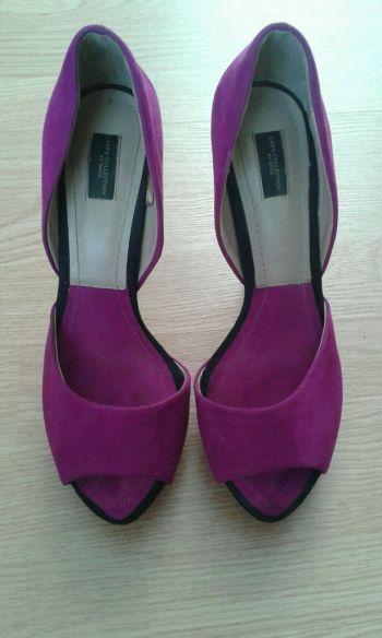 Zapatos rosa fucsia