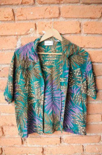 Camisa con print