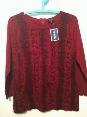 Suéter animal print