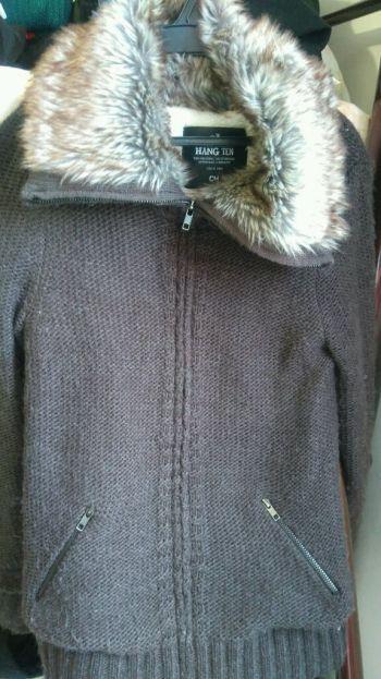 Abrigo de borrego hang ten