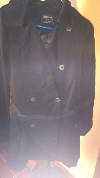 Abrigo negro nuevo