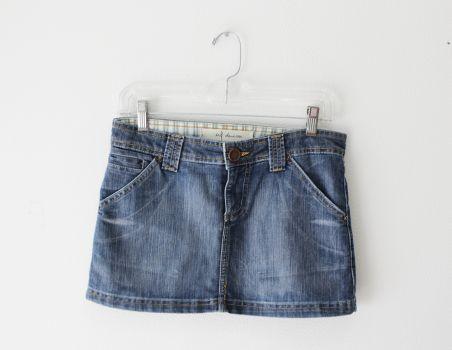 Minifalda de mezclilla