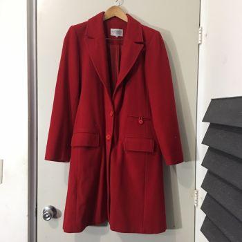 Abrigo Rojo de invierno