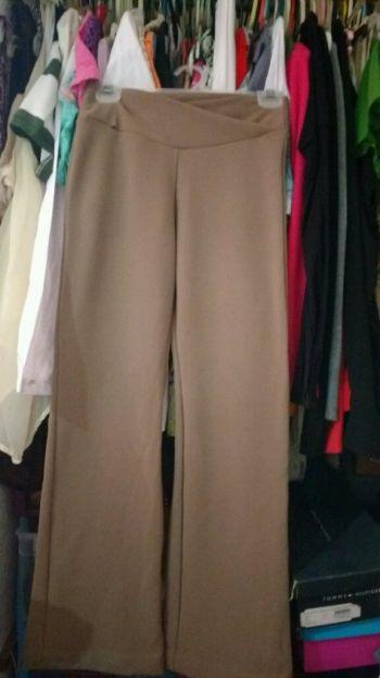 2x1 pantalón de tela con detalle