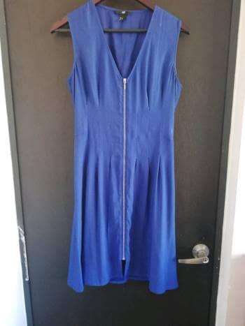 Vestido h&m azul