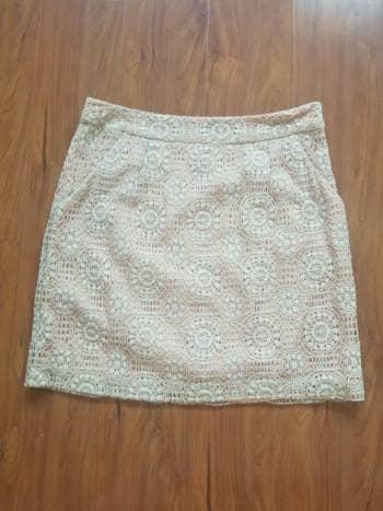 Minifalda con encaje