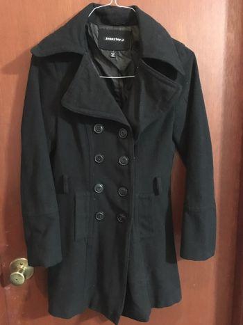 Abrigo negro formal