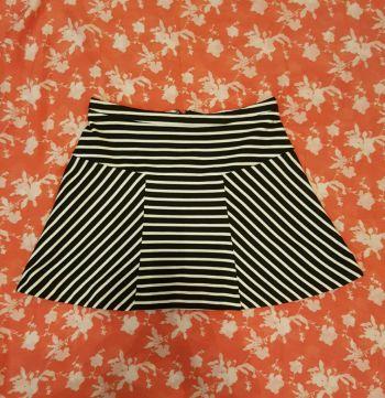 Falda de rayas!