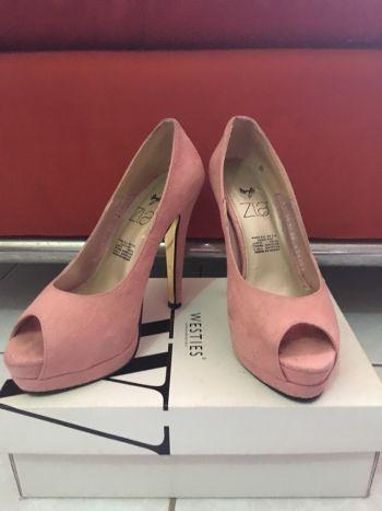 Zapatillas rosas con plataforma