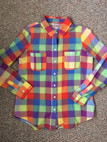 Camisa cuadros de colores
