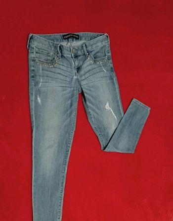 Skinny boyfriend jeans, Express. T 7