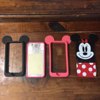 4 fundas minie iphone 5