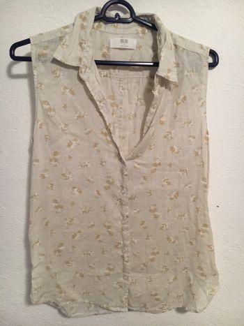 Camisa de lino uniqlo