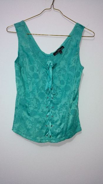 8df96a765 Blusa tipo corset - GoTrendier - 339387