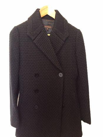 Abrigo negro adolfo dominguez