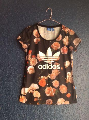 Adidas originals roses tshirt