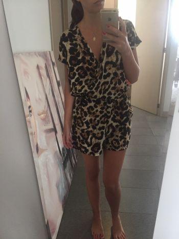 Romper cheetah Romeo & Juliet