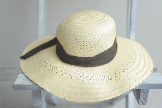 Sombrero tipo paja