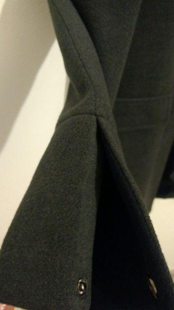 Abrigo gris elegante