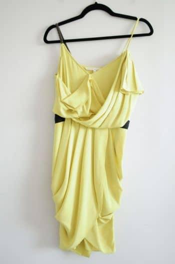 Vestido amarillo a