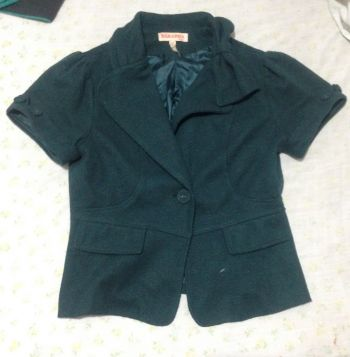 Saco verde MANGA CORTA  2X1