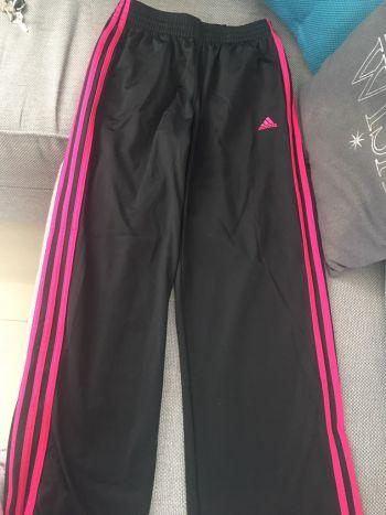 Pants adidas negro rosa