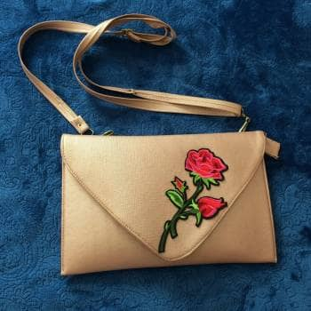 Bolsa Crossbody rosa