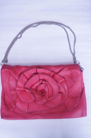 Bolso rosa bandolera