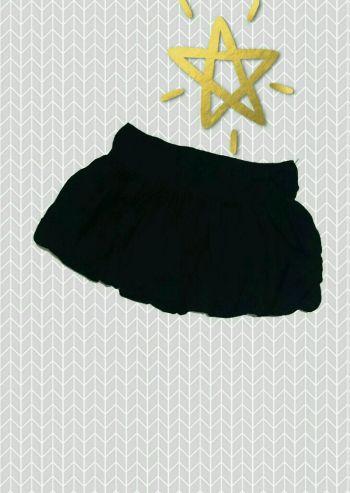 2x1 Falda negra tipo globo