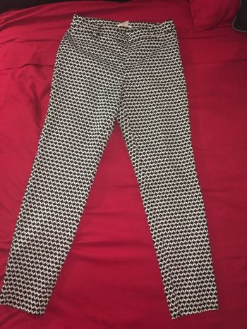 Pantalón B/N H&M
