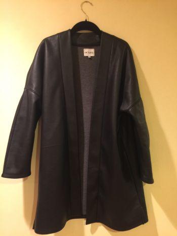 Abrigo de imitacion piel ocelote
