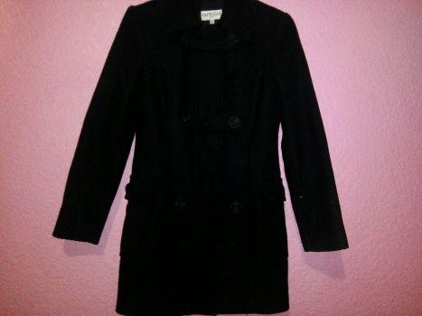 Abrigo negro Amori