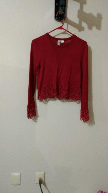 Coqueto jersey rojo