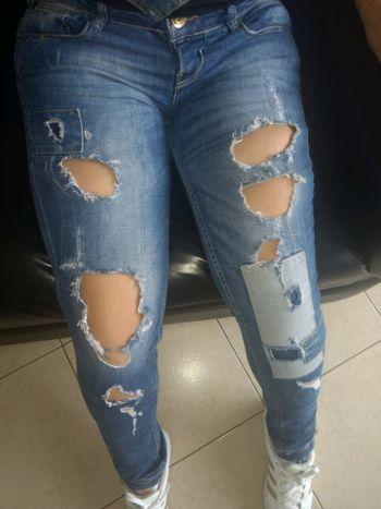 Hermoso jeans mezclilla