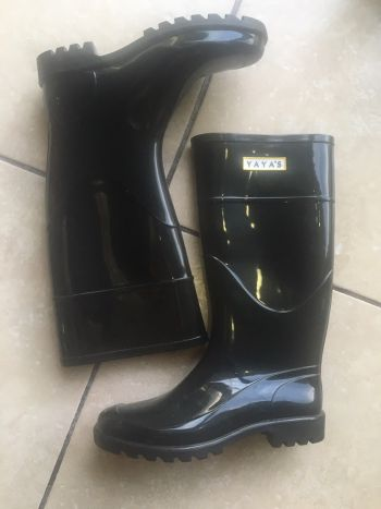 Botas de lluvia Glasgow negro YAYAS 5