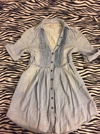 Camisa/vestido de mezclilla