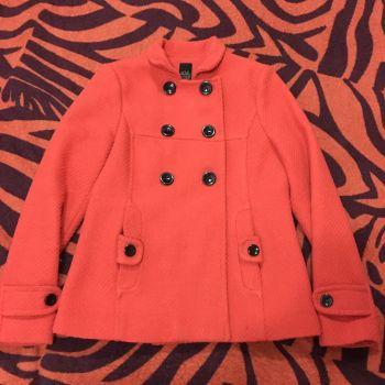 Abrigo corto naranja