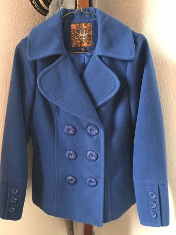 Abrigo shyla Azul