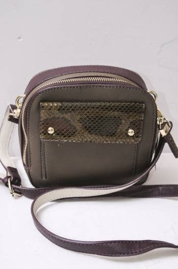 Bolsa crossbody animal print