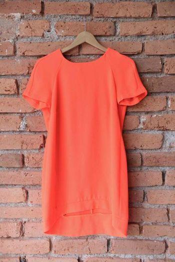 Vestido color neón
